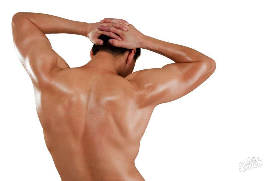 Как избавиться от волос на спине?